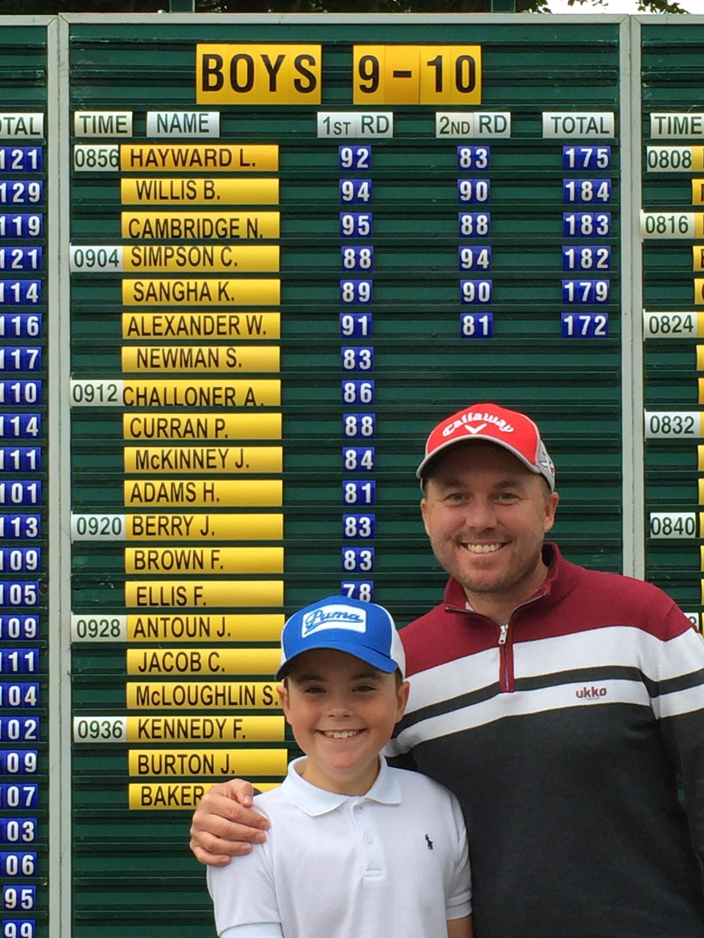 SP Golf Academy trio make St.Andrews their home of golf