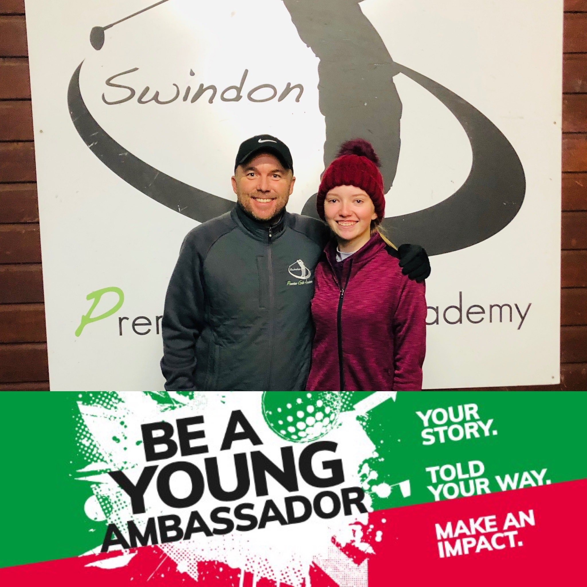 Niamh Cripps has been chosen to be one of the 6 England Golf young ambassadors for 2020